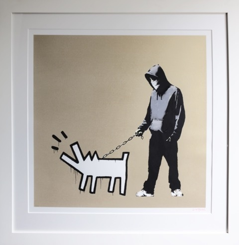 Banksy, 'Choose Your Weapon (Gold)', 2010, Contemporary Art Trader