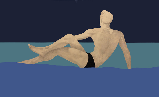 Charles Pachter, 'Sea Man', 1994, Oeno Gallery
