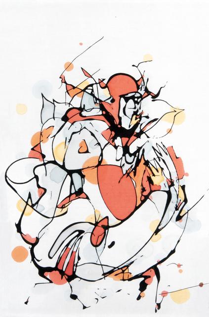 Mr Jago, 'Orange Figure', 2008, Tate Ward Auctions