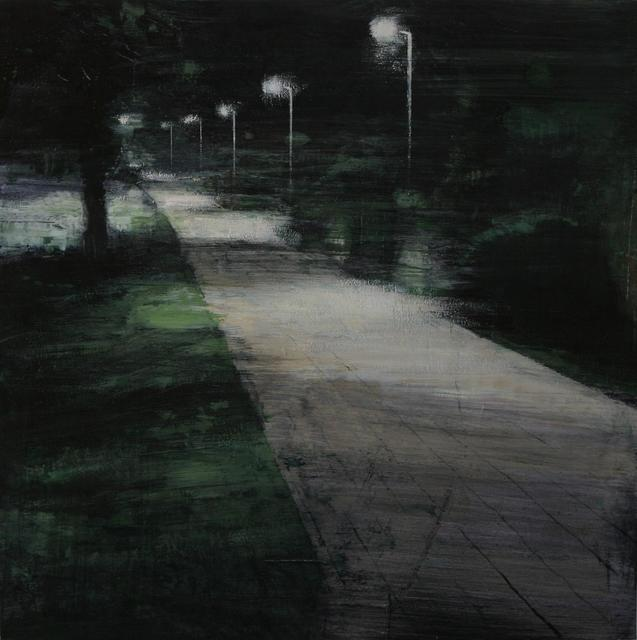 , 'Jardín de Noche,' 2017, Sala Parés - Galería Trama