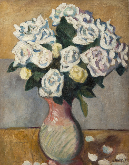 Louis Valtat, 'Bouquet de roses blanches', ca. 1910, BAILLY GALLERY