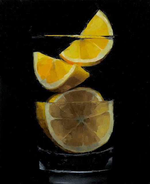 Tom Giesler, 'Floral 50: meyer lemon no. 2', 2021, Painting, Oil on panel, McVarish Gallery