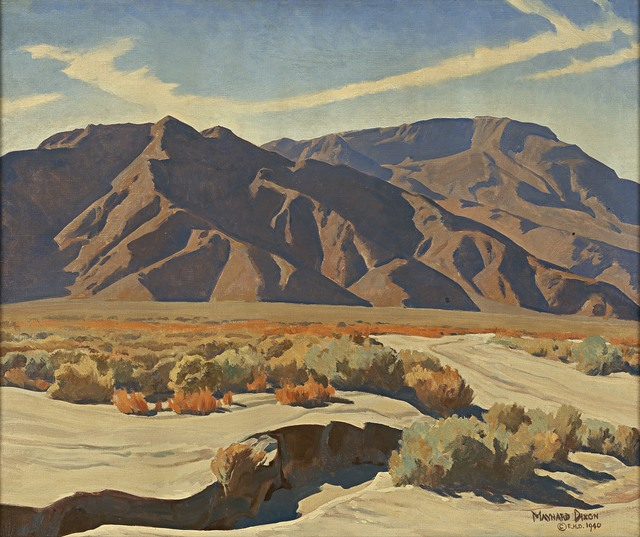 , 'Desert Ranges,' 1940, Blanton Museum of Art