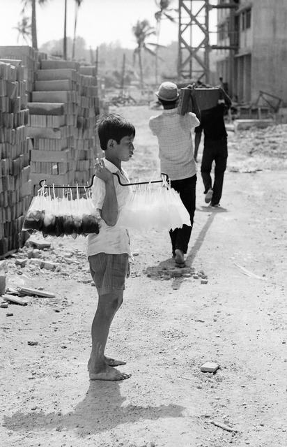 , 'Poor Child, Peddling Cold Drinks Under the Hot Sun,' 1970, Yeo Workshop