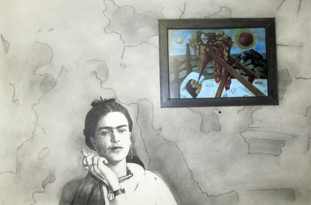 , 'Frida Smoking,' , Zenith Gallery