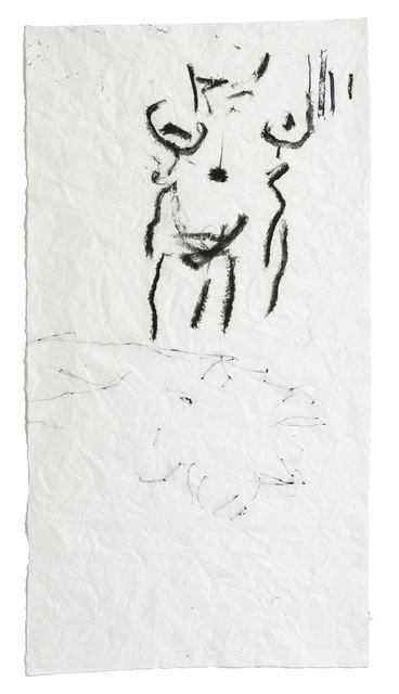 Joan Jonas, 'Untitled from Reanimation Performance', 2014, Painting, Oil Stick on Paper, Miriam Shiell Fine Art