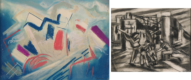 Joseph Meierhans, 'Two Works of Art: Untitled, Untitled (Four Workers)', Rago