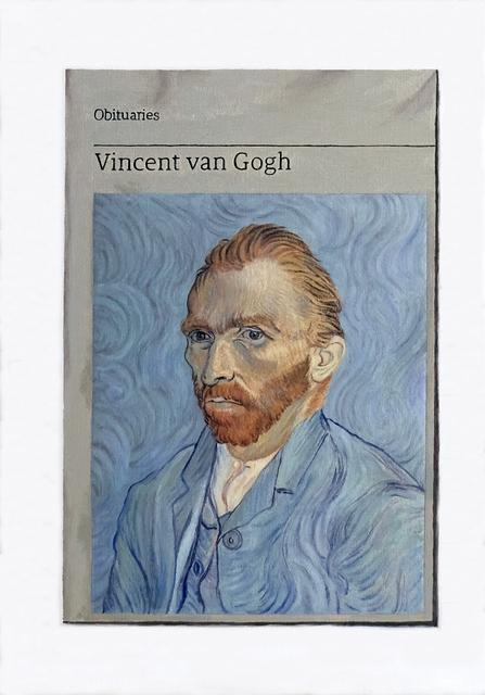 , 'Obituary: Vincent van Gogh,' 2018, Charlie Smith London