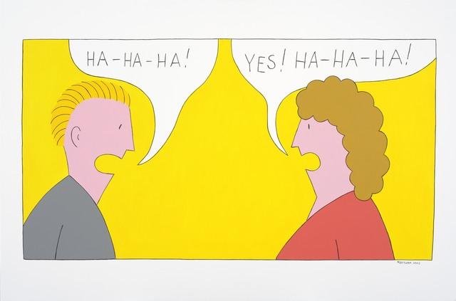 , 'Ha-ha-haa!,' 2013, Temnikova & Kasela