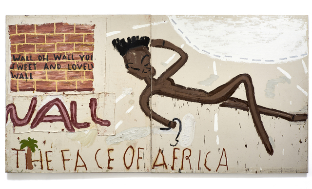 , 'Face of Africa, Wall,' 2016, CHOI&LAGER