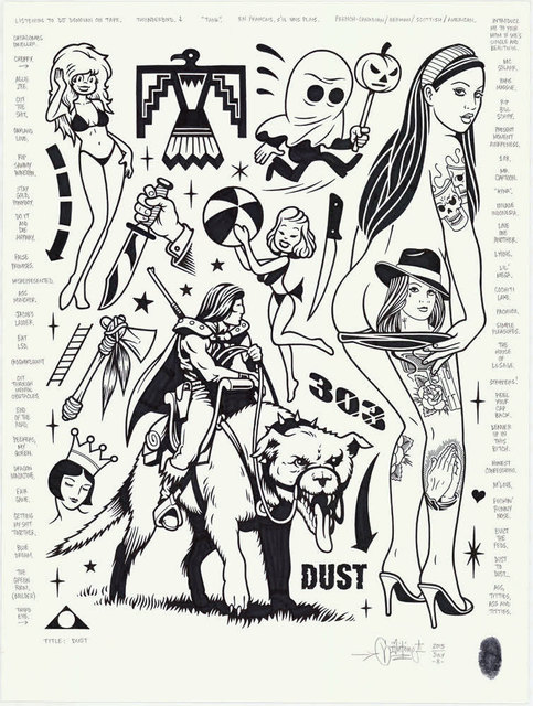 , 'Dust,' 2015, Black Book Gallery