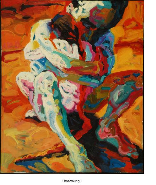 Annette Schröter, 'Die Umarnung (The hug)', 1989, Galerie Brockstedt