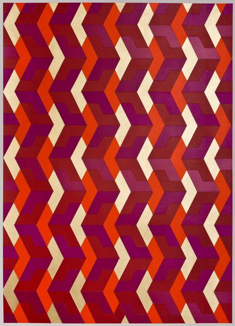 , 'Chevron Red,' 2015, K. Imperial Fine Art