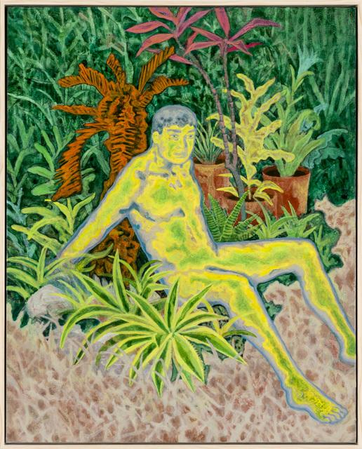 , '我想成為這片泥濘中的一株小草,' 2017, Yiri Arts