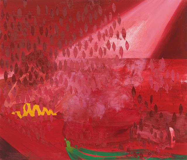 Dominic Chambers, 'Resting in Red', 2019, De Buck Gallery