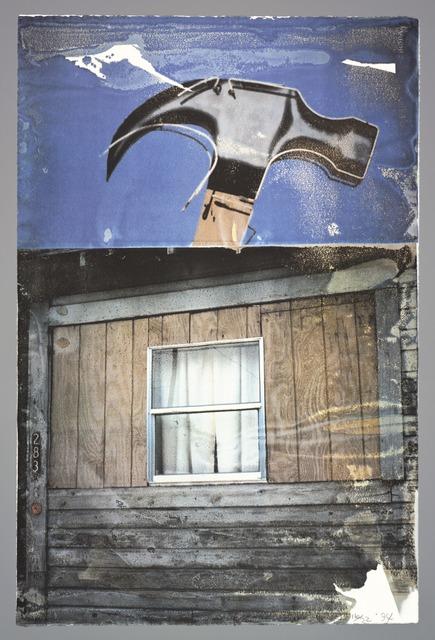 Robert Rauschenberg, 'Labor (Tribute 21)', 1994, Print, Offset lithograph, San Francisco Museum of Modern Art (SFMOMA)