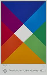 Poster: Olympische Spiele Munchen