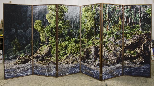 , 'PARAVENT,' 2013-2014, Galería Juana de Aizpuru