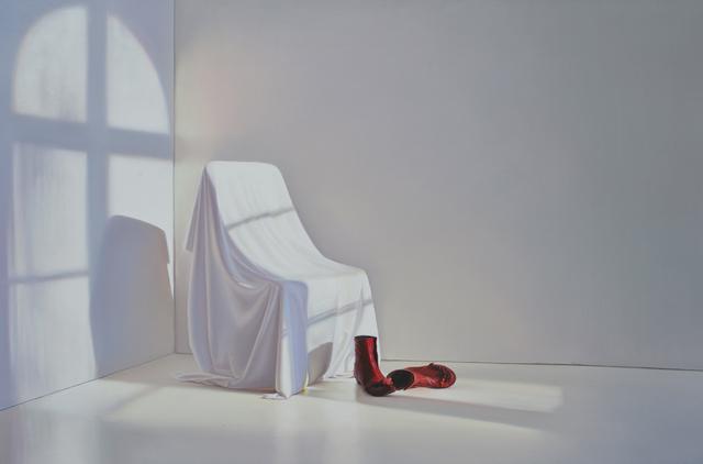 , 'Zimmer mit roten Schuhen,' 2016, Galerie Friedmann-Hahn