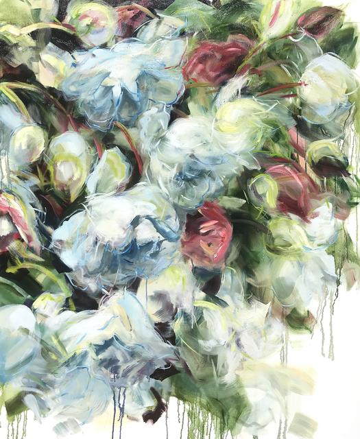 Jamie Evrard, 'White Roses Falling', 2019, Bau-Xi Gallery
