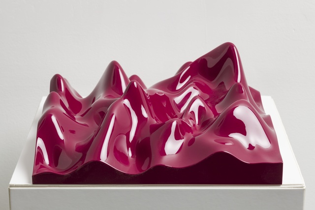 Peter Saville, 'Unknown Pleasure, Claret Violet', 2012, Paul Stolper Gallery