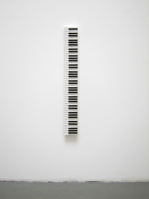 , 'keyboard,' 2016, Loom Gallery
