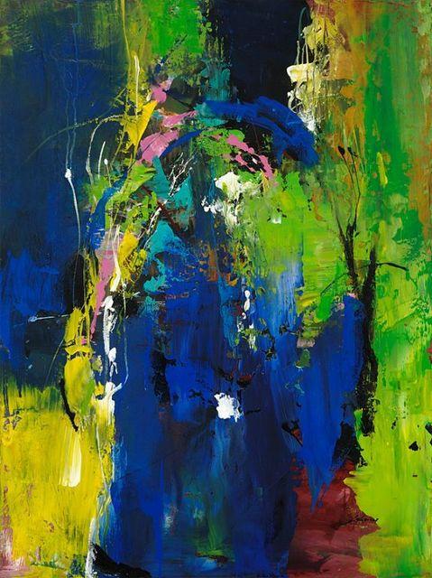 Jean-Pierre Lafrance, 'Visage blue', 2010, Thompson Landry Gallery
