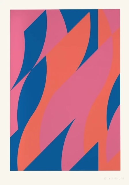 Bridget Riley, 'Large Fragment 2', 2009, Redfern Gallery Ltd.