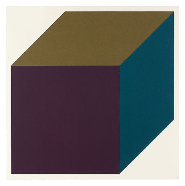 , 'Forms Derived from a Cube (Colors Superimposed) 1,' 1991, Cristea Roberts Gallery