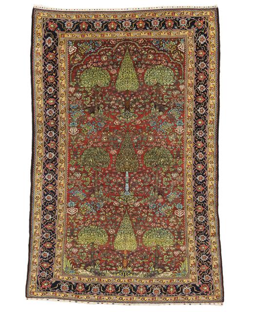 Unknown Artist, 'Baktiari Garden Carpet', late 19th c., Peyton Wright Gallery