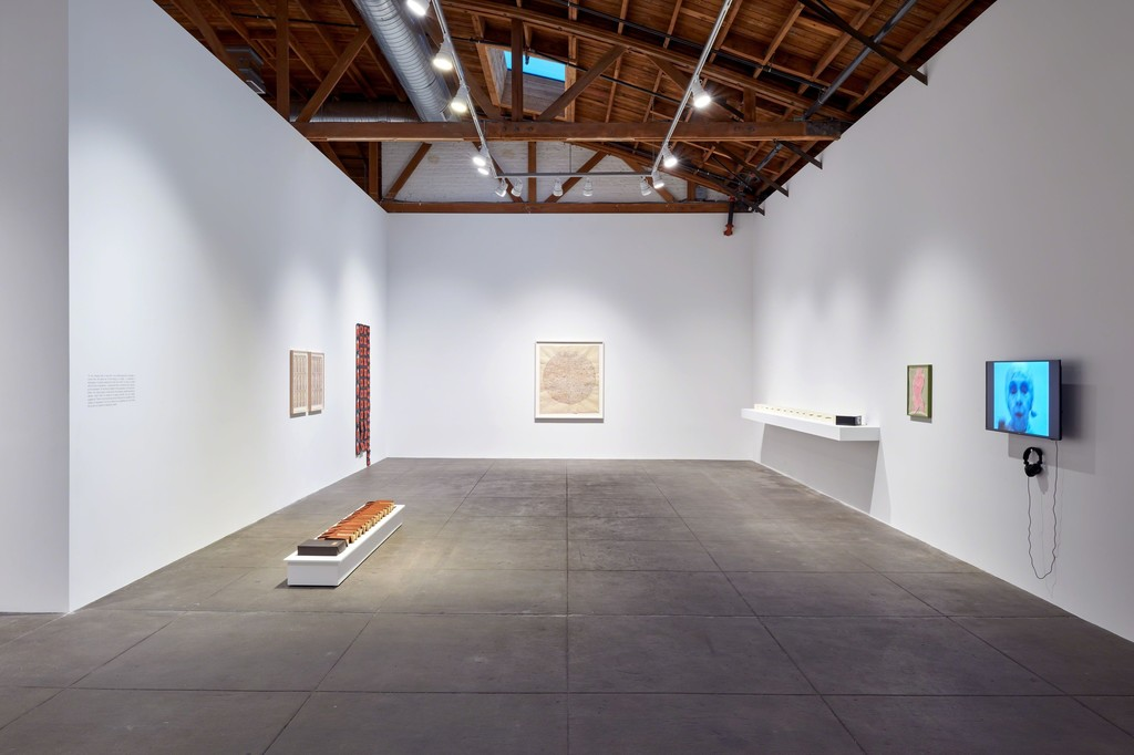 Installation view, 'Geta Brătescu. The Leaps of Aesop,' Hauser & Wirth Los Angeles, 17 February – 20 May 2018  