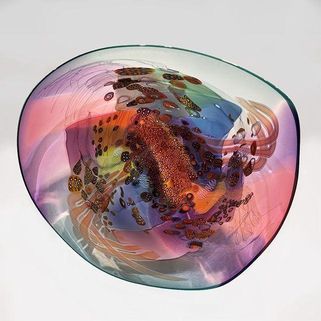 , 'Colorfield Platter IV 1918,' 2019, OTA Contemporary
