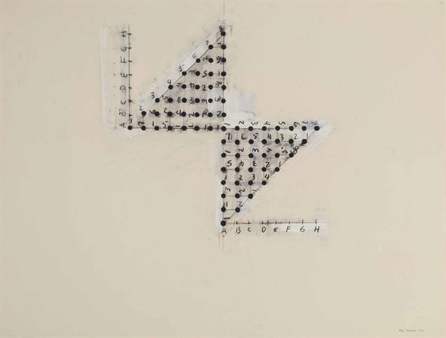 Mel Bochner, 'Principle of Detachment', Christie's