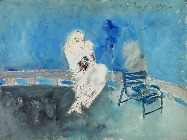 SRĐAN VUKČEVIĆ, 'On the Promenade', 1992, Museum of Modern Art Dubrovnik