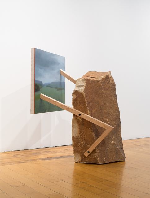 , 'Landscape Painting 3 (Rock),' 2018, David B. Smith Gallery