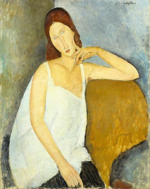 , 'Jeanne Hébuterne,' 1919, Tate Modern