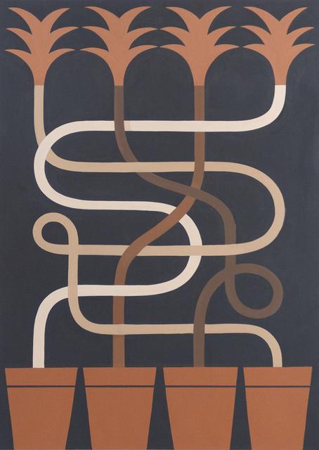 Agostino Iacurci, 'Sunflowers n°2', 2019, BC Gallery