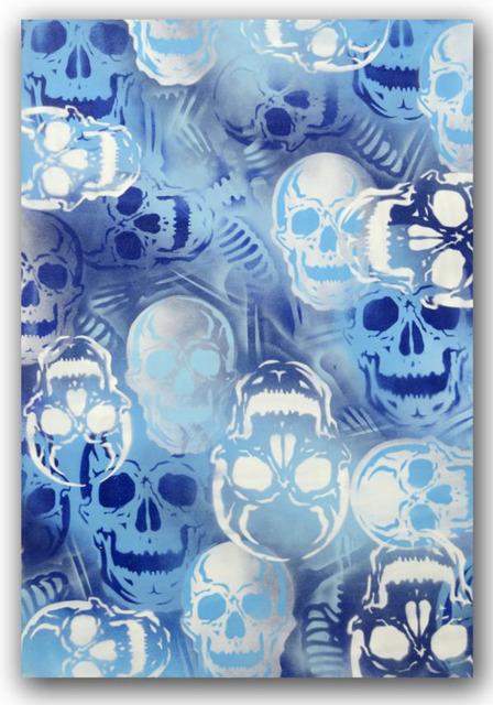 SEEN, 'Blue Skulls', 2007, Dirtypilot.com/Hobbs Gallery