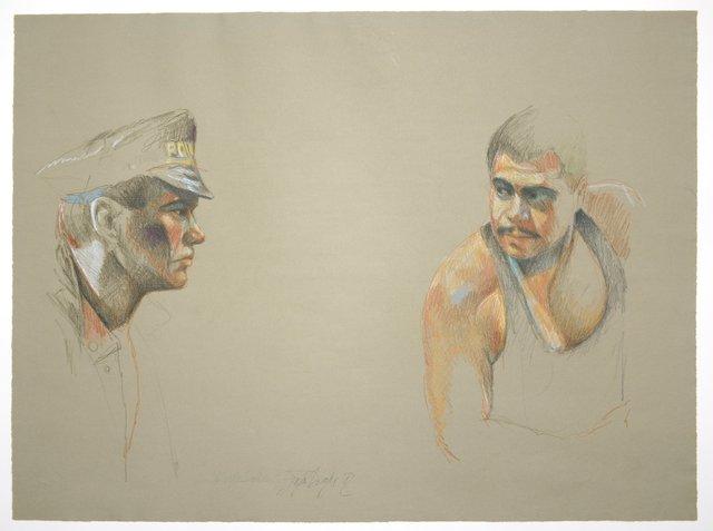 , 'Polizist mit Günther Kaufmann,' , Galerie Kornfeld