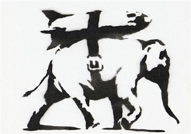Banksy, 'Heavy Weaponry', 2004, Taglialatella Galleries