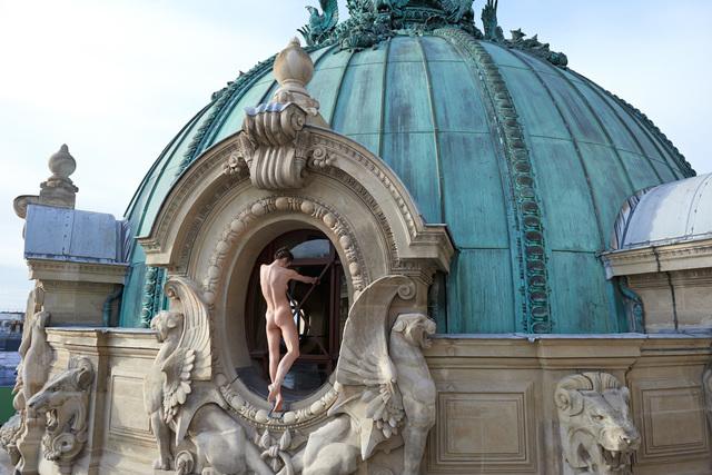 , 'Sur les toits de l´Opéra, Paris,' 2014, Ira Stehmann Fine Art Photography