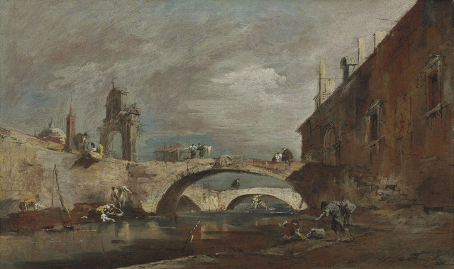 , 'Capriccio with bridges over a canal,' , Christie's Old Masters