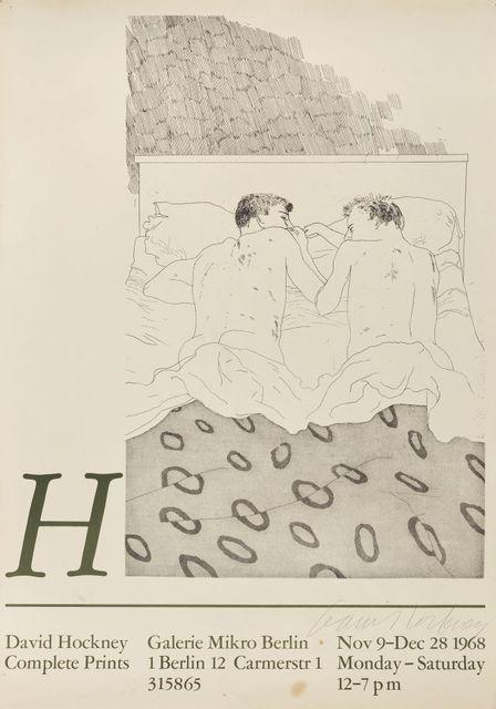 David Hockney, 'Complete Prints Galerie Mikro Berlin [Baggott 15]', 1968, Roseberys