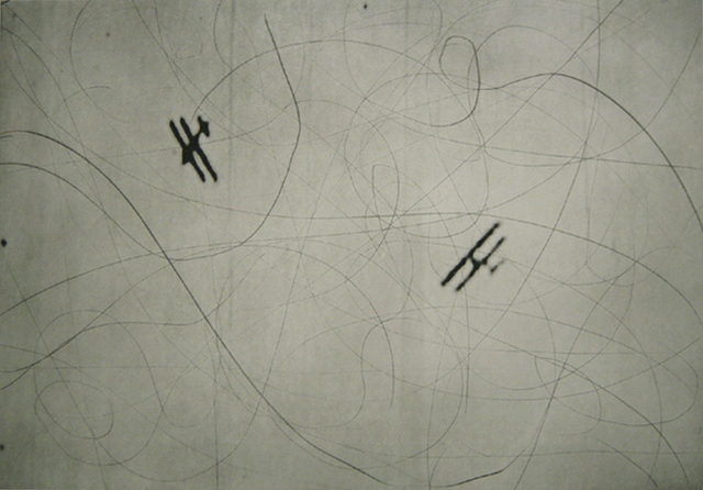 William Kentridge, 'Planes from Zeno II', 2002-2003, Print, Photogravure, drypoint, Gallery Neptune & Brown