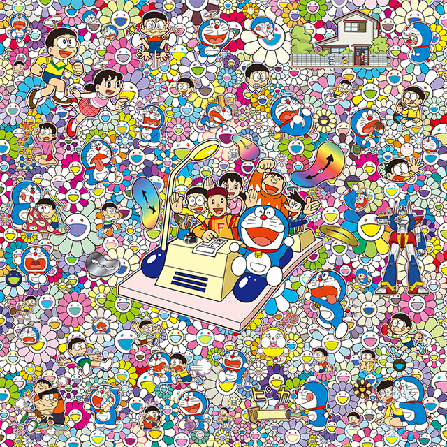 Takashi Murakami, 'On an Endless Journey on a Time Machine with the Author Fujiko F.Fujio!', 2019, Fineart Oslo