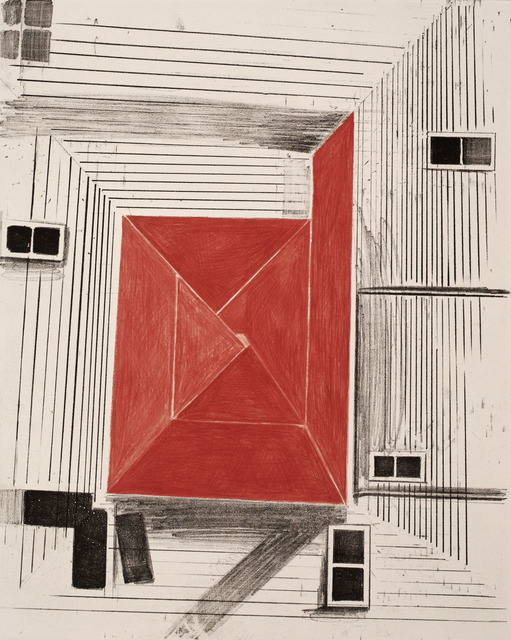 , 'RED SQUARE,' 2007, Paulson Fontaine Press