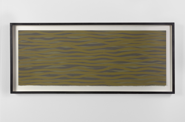 , 'Horizontal Brushstrokes in Color,' 2003, Helwaser Gallery