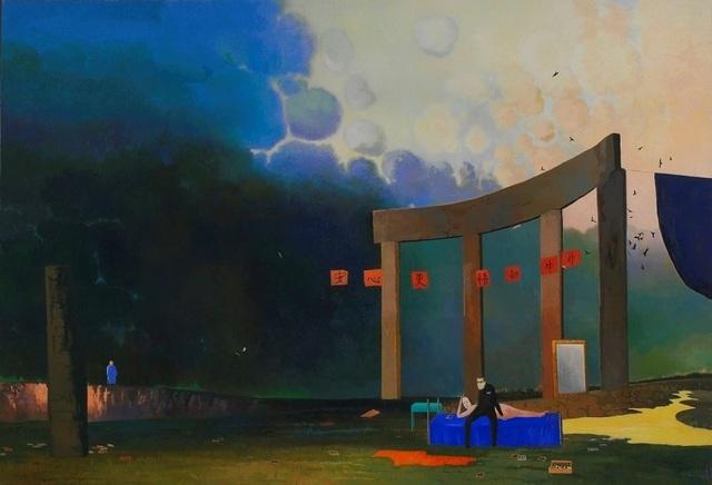 , 'Strolling by a Streamside,' 2012, Powen Gallery