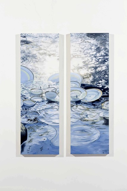 , 'Divided River,' 2013, Cross Mackenzie Gallery