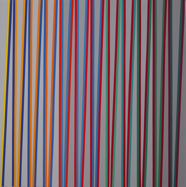 , 'From Yellow to Red over Bluegreen, ZigZag Series,' 2019, Minus Space